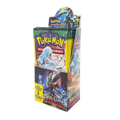 Sobres de 3 cartas Pokémon Sol y Luna Albor de Guardianes