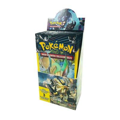 Sobres de 3 cartas Pokémon Sol y Luna Ultra Prisma
