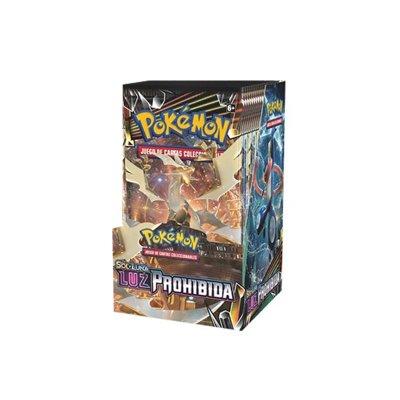 Sobres de 3 cartas Pokémon Sol y Luna Luz Prohibida