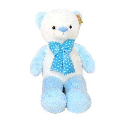 Distribuidor mayorista de Peluche oso azul con pajarita 70cm