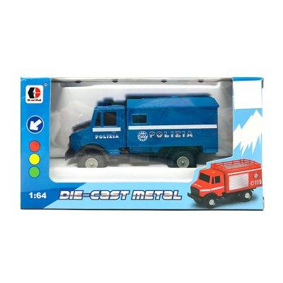 Wholesaler of Miniatura vehículos servicios Die-Cast Metal 1:64 Polizia