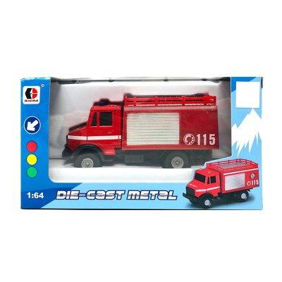Miniatura vehículos servicios Die-Cast Metal 1:64 Bomberos