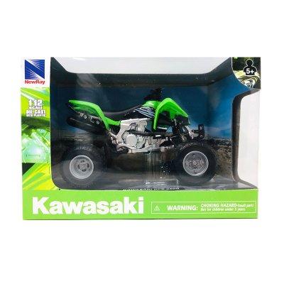 Wholesaler of Miniatura quad Kawasaki KFX 450R 1:12