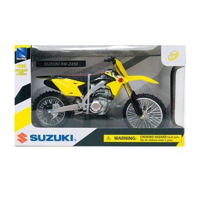 Wholesaler of Miniatura moto Suzuki RM-Z450 1:12
