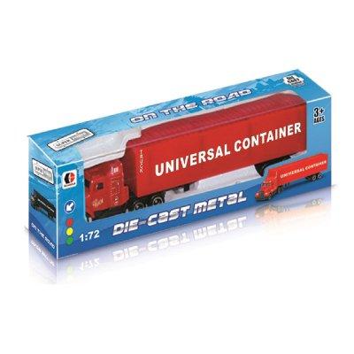 Miniatura vehículos camión Die-Cast Metal 1:72 - rojo