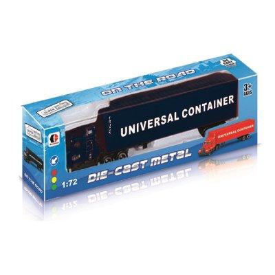 Miniatura vehículos camión Die-Cast Metal 1:72 - negro