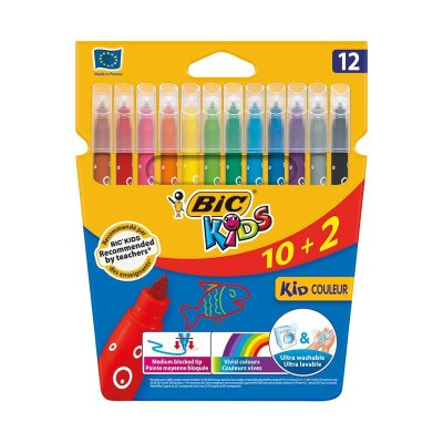 Wholesaler of Caja de 12 Rotuladores de colores Bic Kids