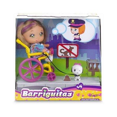 Barriguitas Carreras sobre Ruedas - Chica en silla de ruedas