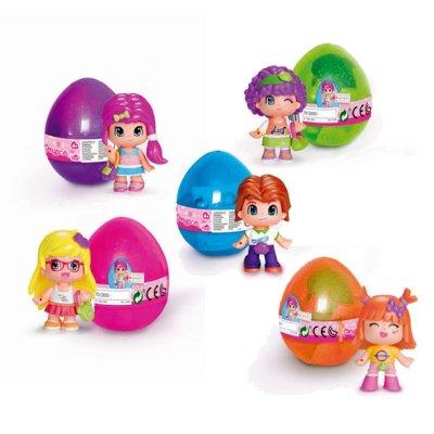 Huevos sorpresa minifiguras Pinypon