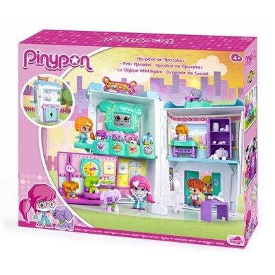 Playset Hospital de Mascotas Pinypon