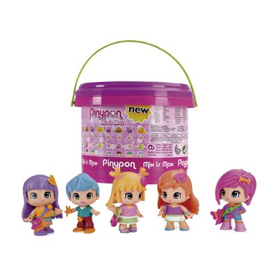 Wholesaler of Cubo Mix is Match 5 Figuras PinyPon