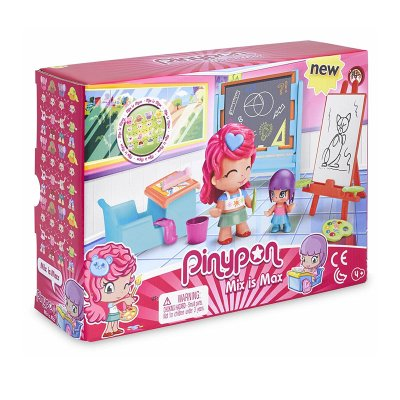 Playset Pinypon Max is Max Clase de arte