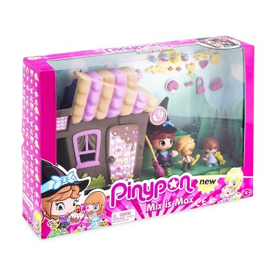 Playset Pinypon Max is Max Casa Hansel y Gretel