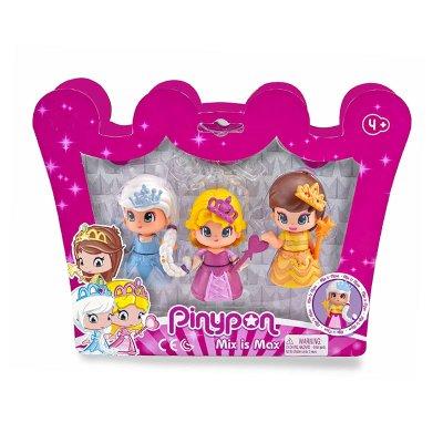 Pack 3 Princesas Pinypon