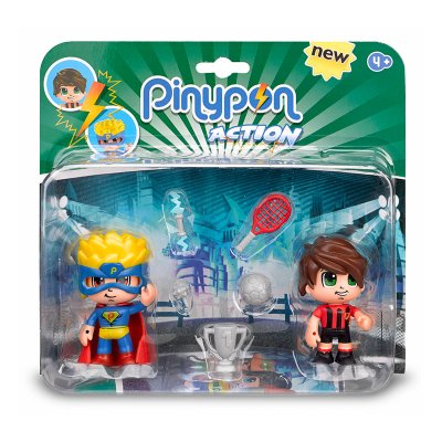 Pack 2 figuras Pinypon Action - modelo 1