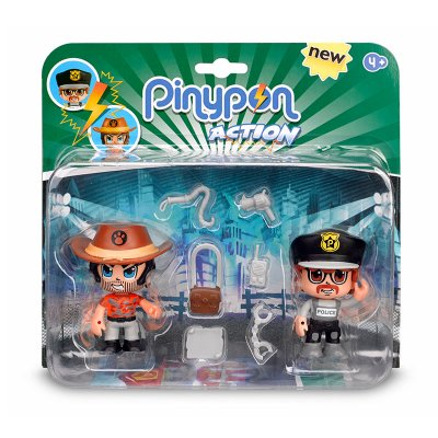 Pack 2 figuras Pinypon Action - modelo 2