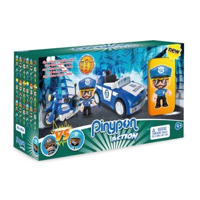 Playset Coche Policía Pinypon Action