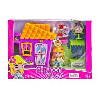 Minicasitas morada Pinypon Mix is Max - tienda de cupcakes