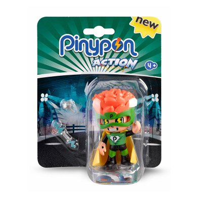 Figuras Pinypon Action Superhéroe