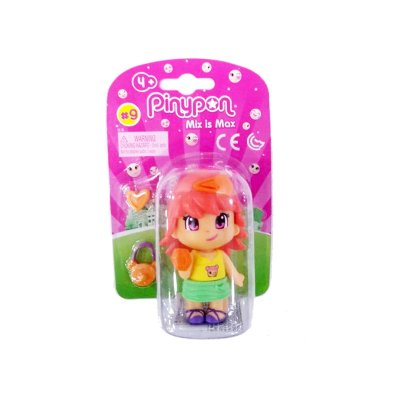 Figura individual Pinypon Mix is Max serie 9 - chica pelirroja