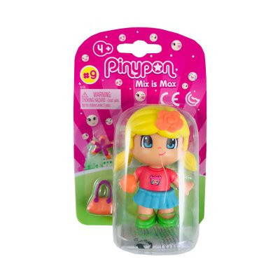 Figura individual Pinypon Mix is Max serie 9 - chica rubia