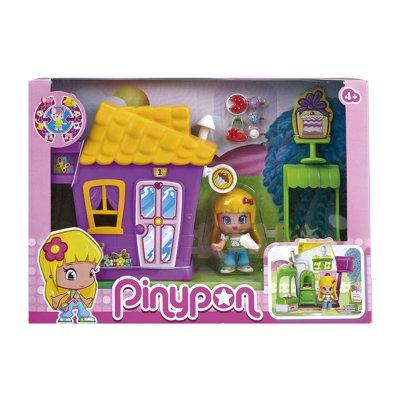 Minicasitas morada Pinypon serie 2 - tienda de cupcakes