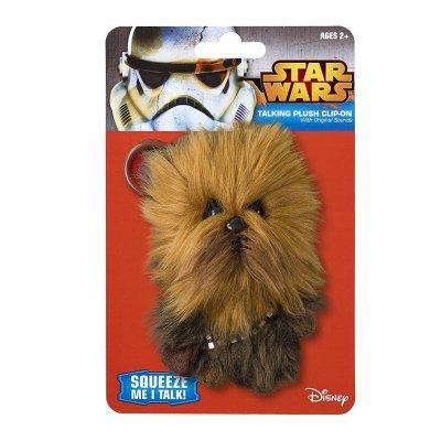 Llavero peluche con sonido Chewbacca Star Wars 11cm