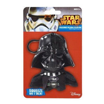 Llavero peluche con sonido Darth Vader Star Wars 11cm