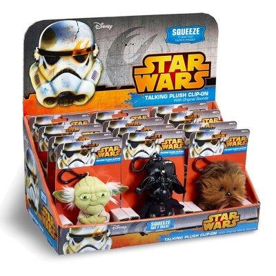 Wholesaler of Llavero peluche con sonido Yoda Star Wars 11cm