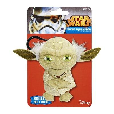 Llavero peluche con sonido Yoda Star Wars 11cm