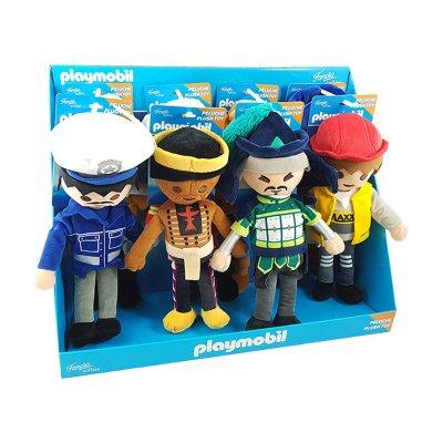 Expositor 8 Peluches Playmobil 30cm