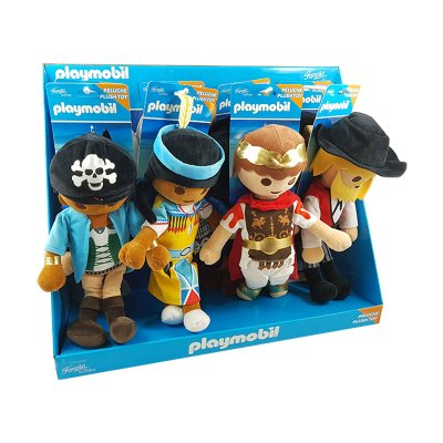 Expositor 8 Peluches Playmobil 2 30cm