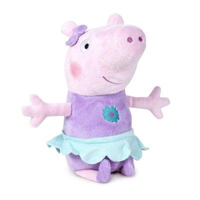 Peluche Peppa Pig Bailarina 40cm - morado