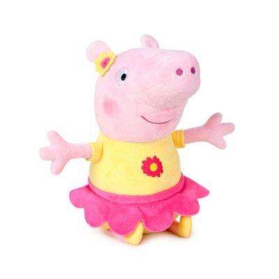 Peluche Peppa Pig Bailarina 40cm - amarillo