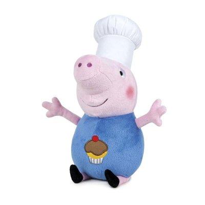 Peluche George Chef Peppa Pig 40cm
