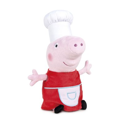 Peluche Peppa Pig Chef 40cm