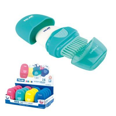Wholesaler of Exp. 16 Eraser&Brush Capsule Milan (combinación goma y cepillo)