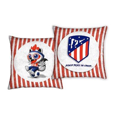 Cojín grande Atlético de Madrid F.C. 50x50cm