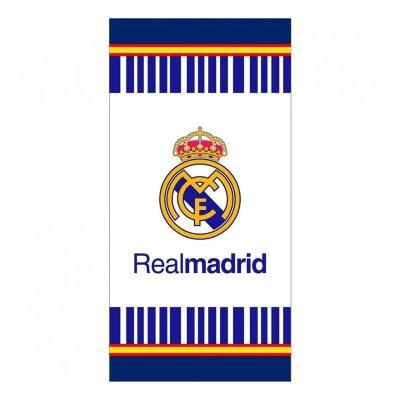 Toalla microfibra Real Madrid rayas