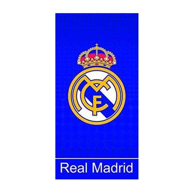 Toalla microfibra F.C. Real Madrid azul