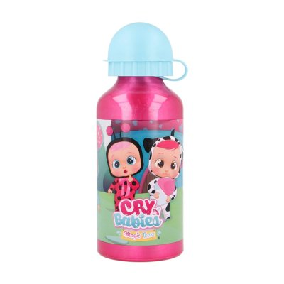 Botella aluminio 400ml Bebes Llorones