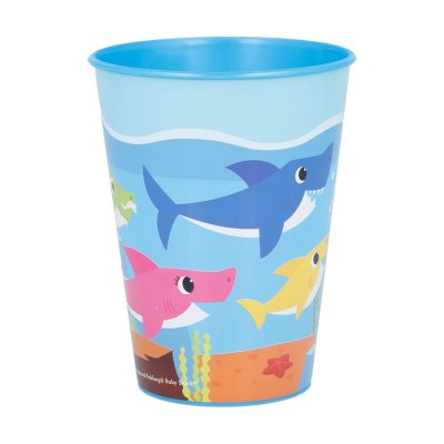 Vaso plástico 260ml Baby Shark