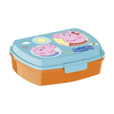 Wholesaler of Sandwichera rectangular Peppa Pig