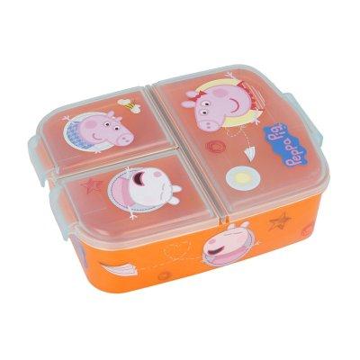 Sandwichera rectangular múltiple Peppa Pig