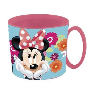 Taza plástico microondas 350ml Minnie Mouse