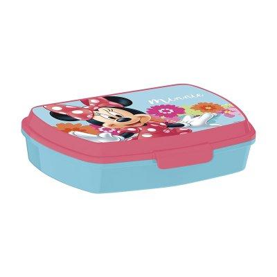 Sandwichera rectangular Minnie Mouse