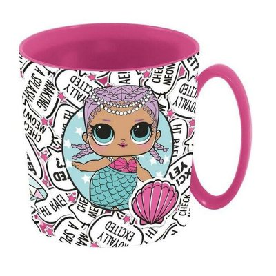 Wholesaler of Taza plástico microondas 350ml LOL Surprise Glam