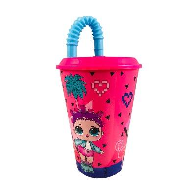 Wholesaler of Vaso con caña 430ml LOL Surprise Hearts