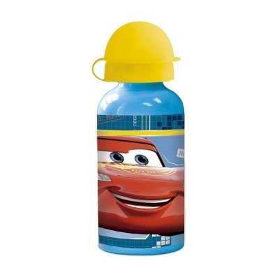 Botella aluminio 400ml Cars Disney