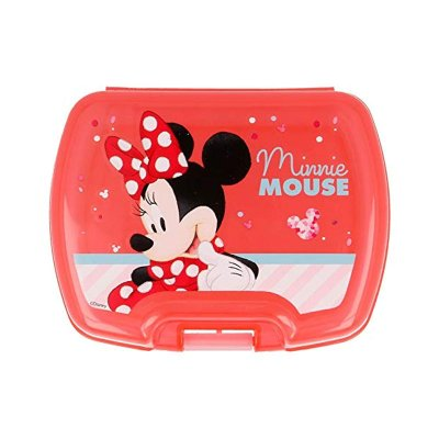 Wholesaler of Sandwichera rectangular Minnie Mouse Disney